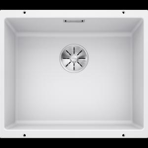 Image for BLANCO Kitchen Sink Subline 500-U Silgranit® Puradur®  - White