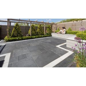 Image for Marshalls Symphony Vitrified Garden Paving  Grey