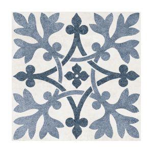 V&A Pugin Filigree Matt Wall & Floor Tile 200x200mm 26 Per Box - VA04442