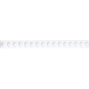 Image for V&A Basics White Dot Border 152mm x 12mm 1 Per Pack - VA7001