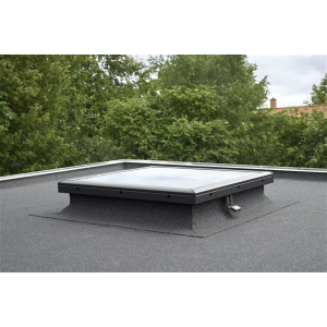 Image for VELUX CVP 100150 S06Q Electric Integra opening flat glass roof window 100x150cm