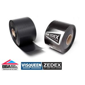 Image for Visqueen Zedex DPC CPT Damp Proof Course 100mm x 20m