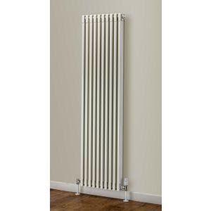 Image for Supplies 4 Heat Woburn Vertical Aluminium Radiator White - 1870mm High