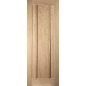 Image for JELD-WEN Internal White Oak Unfinished Worcester FD30 Fire Door