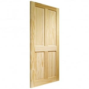 Image for XL Joinery Victorian 4 Panel Internal Clear Pine Door