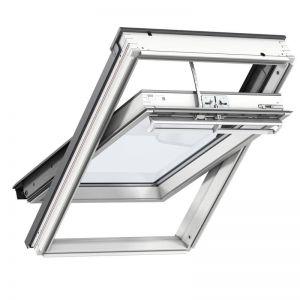 Image for VELUX White Painted INTEGRA GGL UK08 207021U Electric  Laminated Roof Window 134x140cm