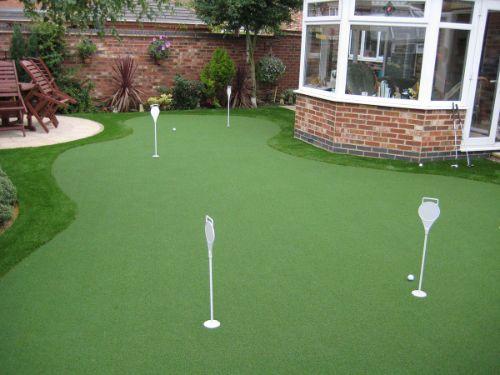 Pro Putting Green 15mm Artificial Grass