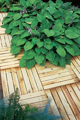 Forest Ridged Deck Tile