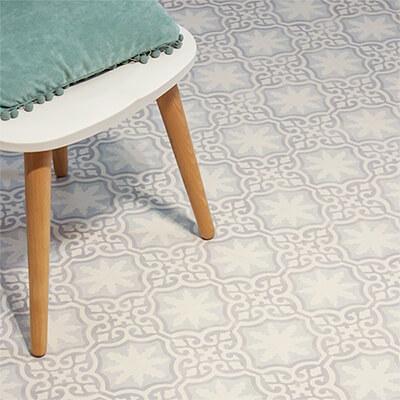 Laminate Flooring Tile Effect 8mm Retro Victorian