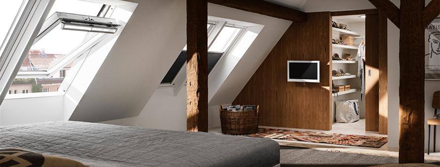 Bedroom Roof Windows