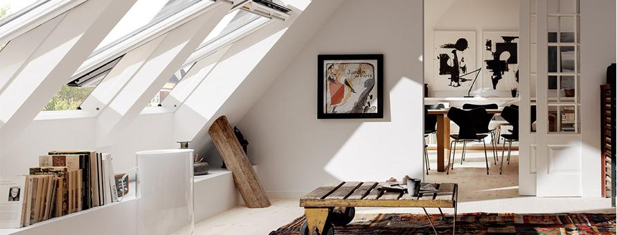 Living Room Roof Windows