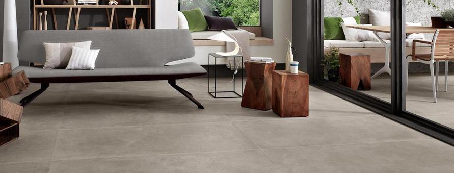 Concrete Effect Floor Tiles